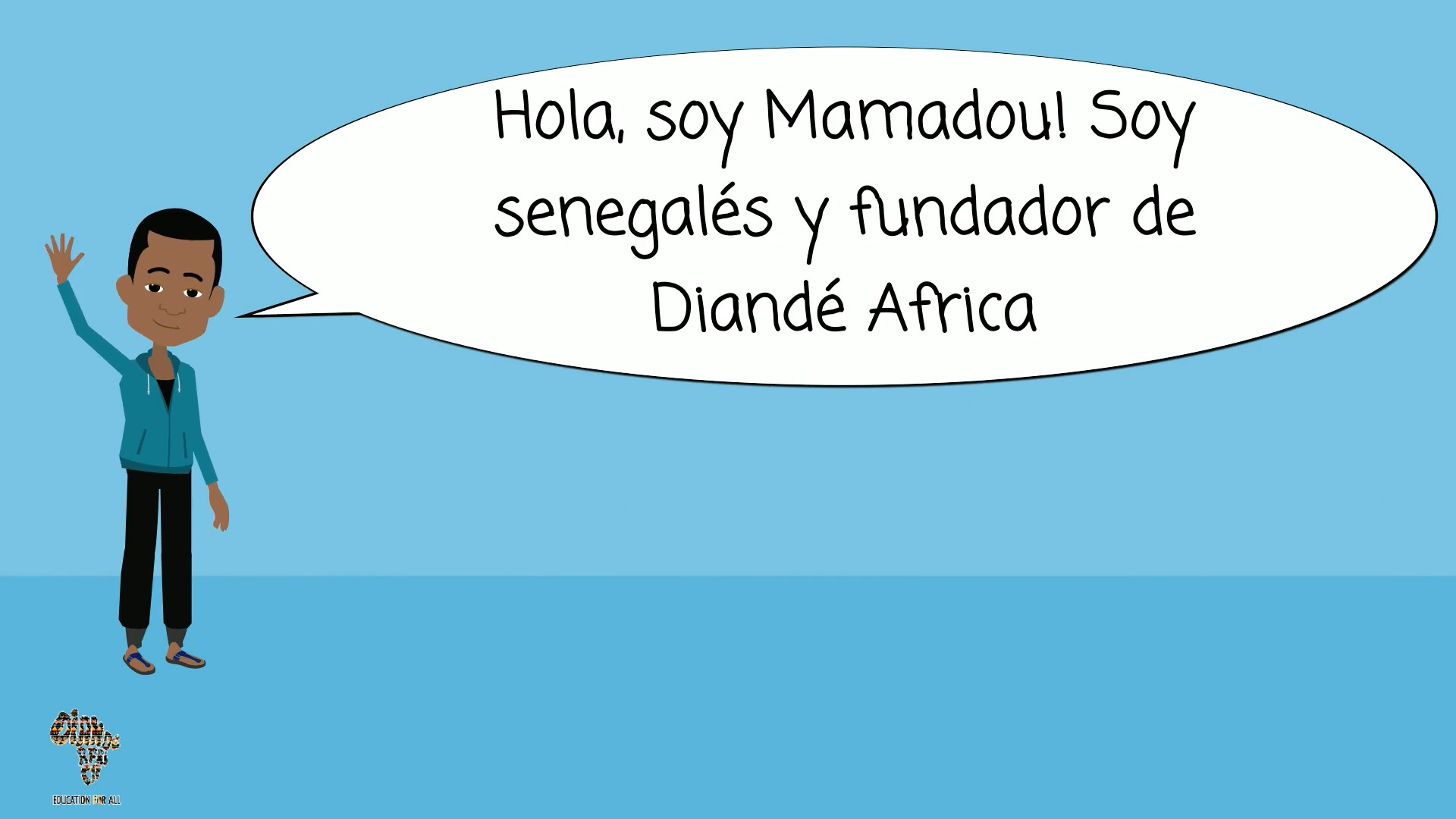 Mamadou explains his own experience developing an SSE initiative: Diandé Africa