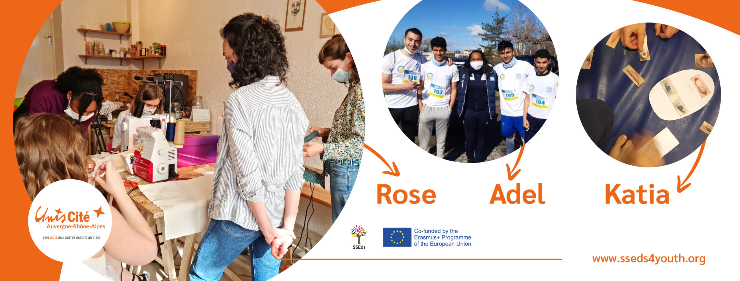 SSE initiatives of the  Unis-Cité's SSEd's local group