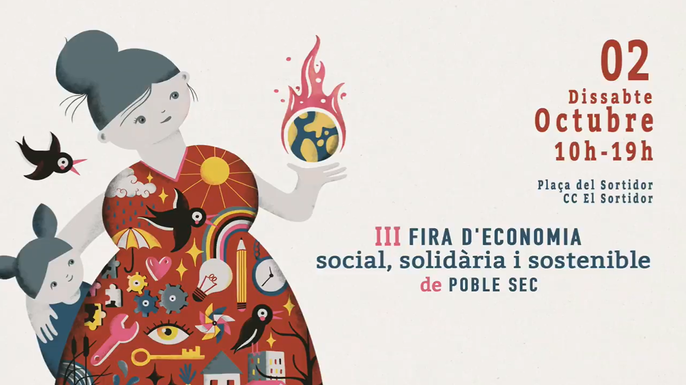 III Fira d'economia social, solidària i sostenible del Poble-sec